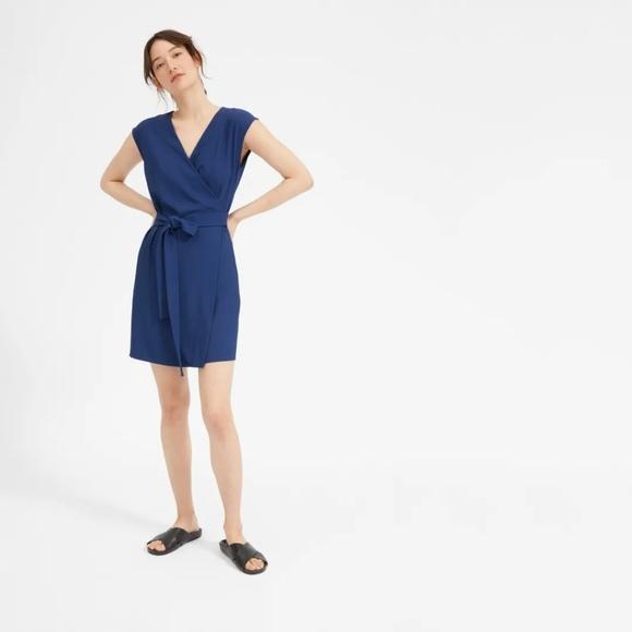 47464be7a062 Everlane Dresses   Japanese Goweave Mini Wrap Dress   Poshmark